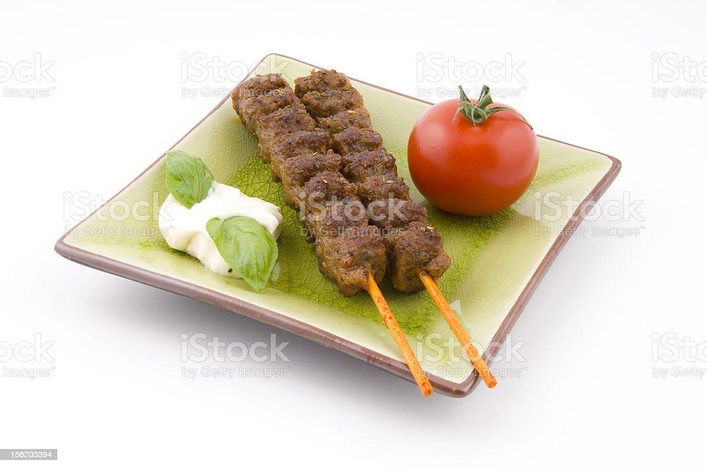italian meal royalty-free stock photo