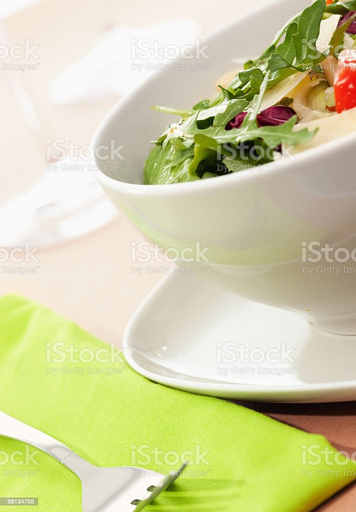 Italian mixed salad royalty-free stock photo