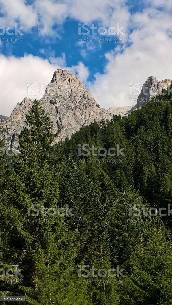 italian mountain landscape royalty-free stock photo