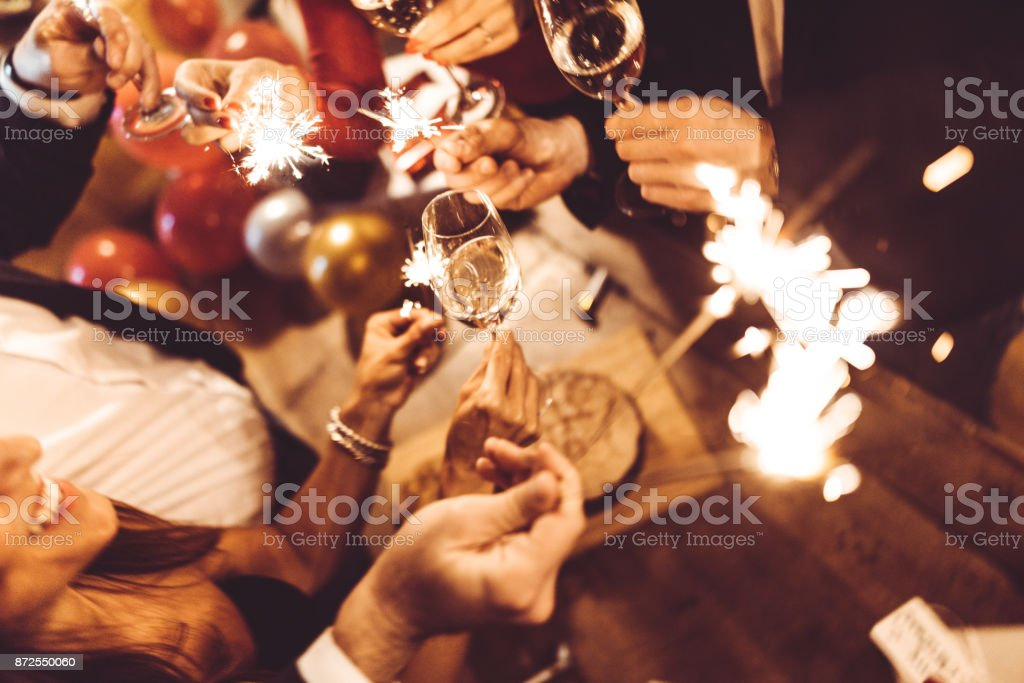 italian new year party