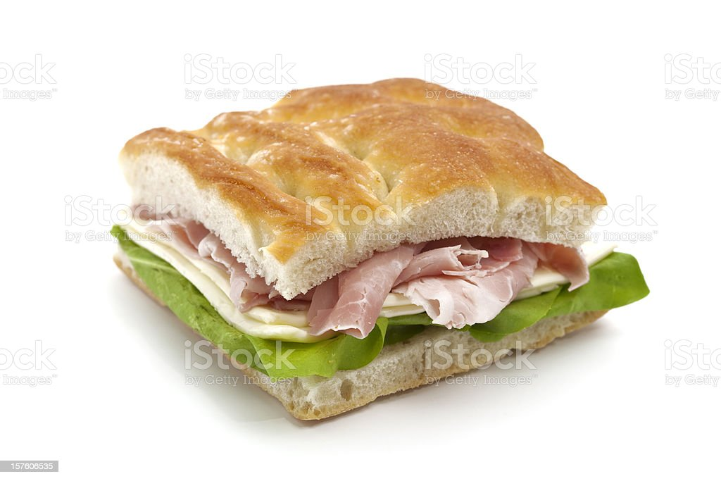 italian panino royalty-free stock photo