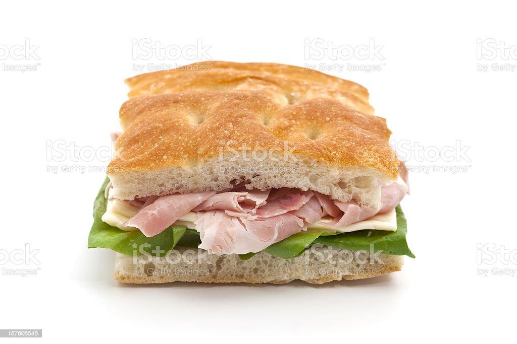 italian panino stock photo