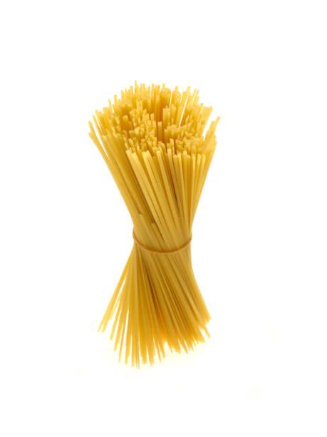 Italienischer Pasta Bund isolierten auf weißen Hintergrund – Foto
