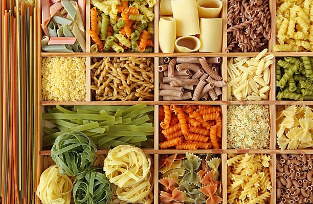 Italienische pasta-Kollektion – Foto