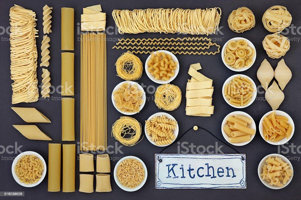 Italian Pasta Cuisine stock photo
