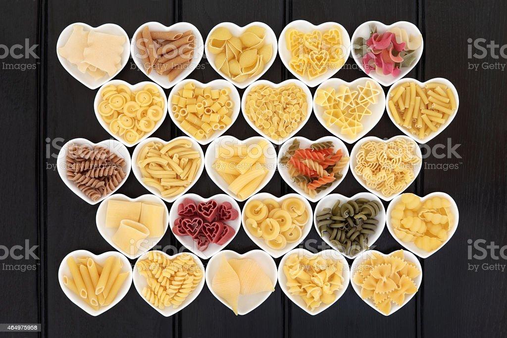 Italian Pasta Sampler stock photo