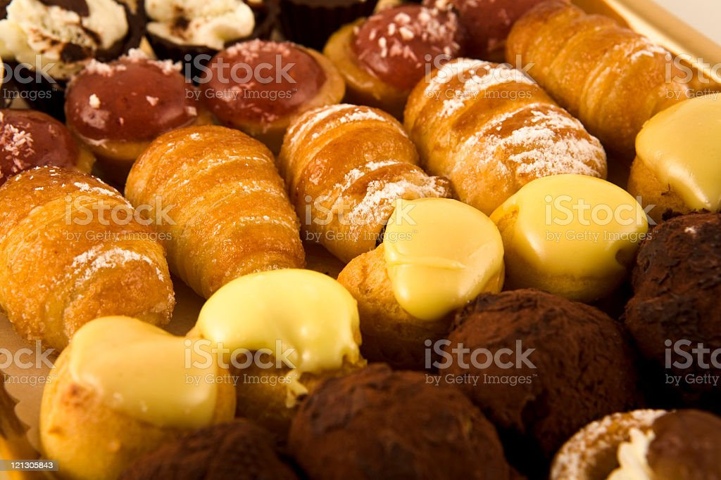 italian pastries royalty-free stock photo