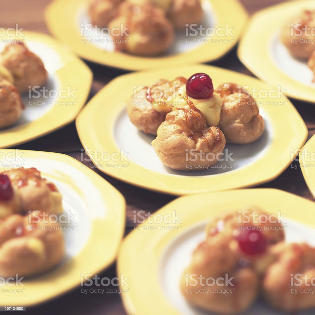 Italian pastries royalty-free stock photo