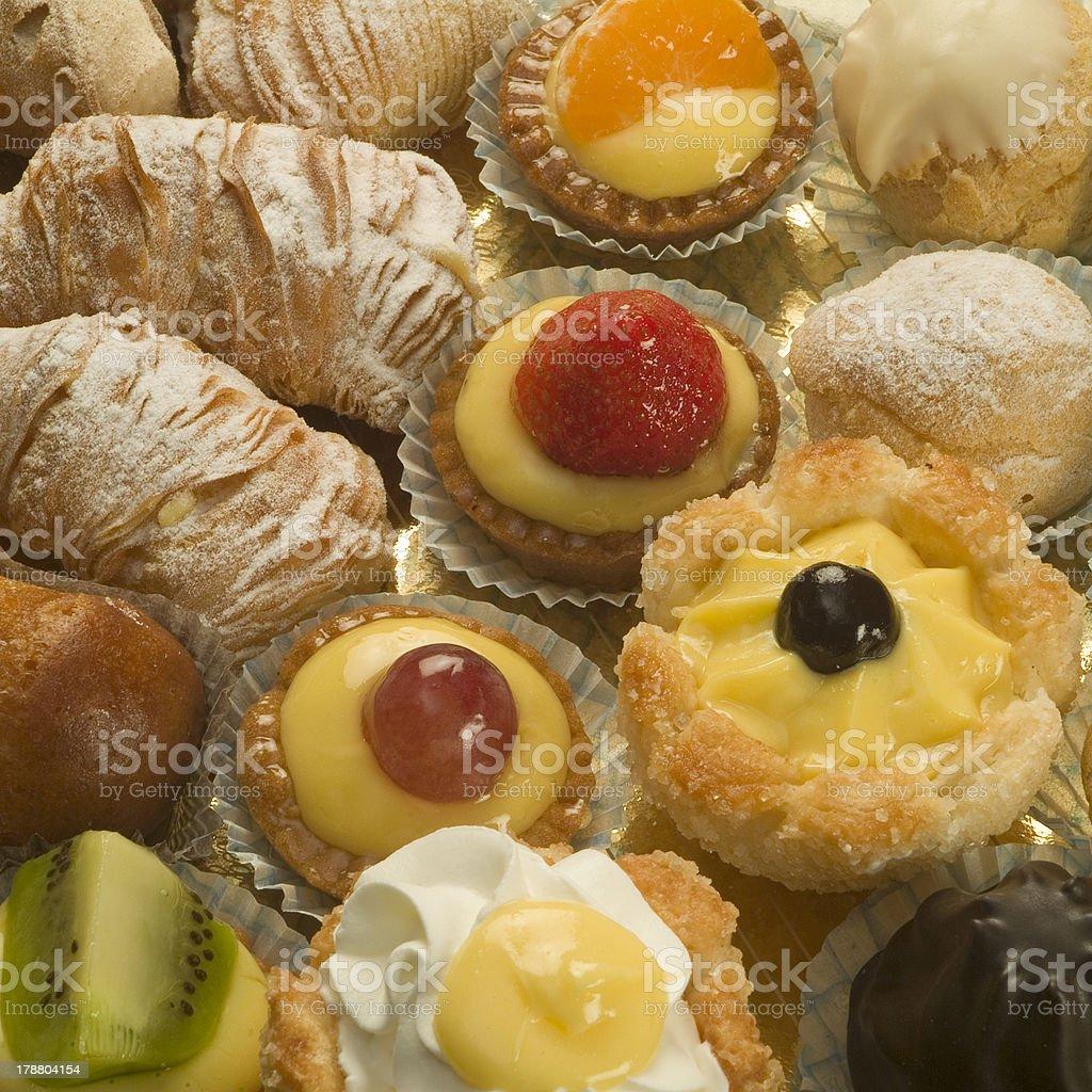 Italian pastry royalty-free stock photo