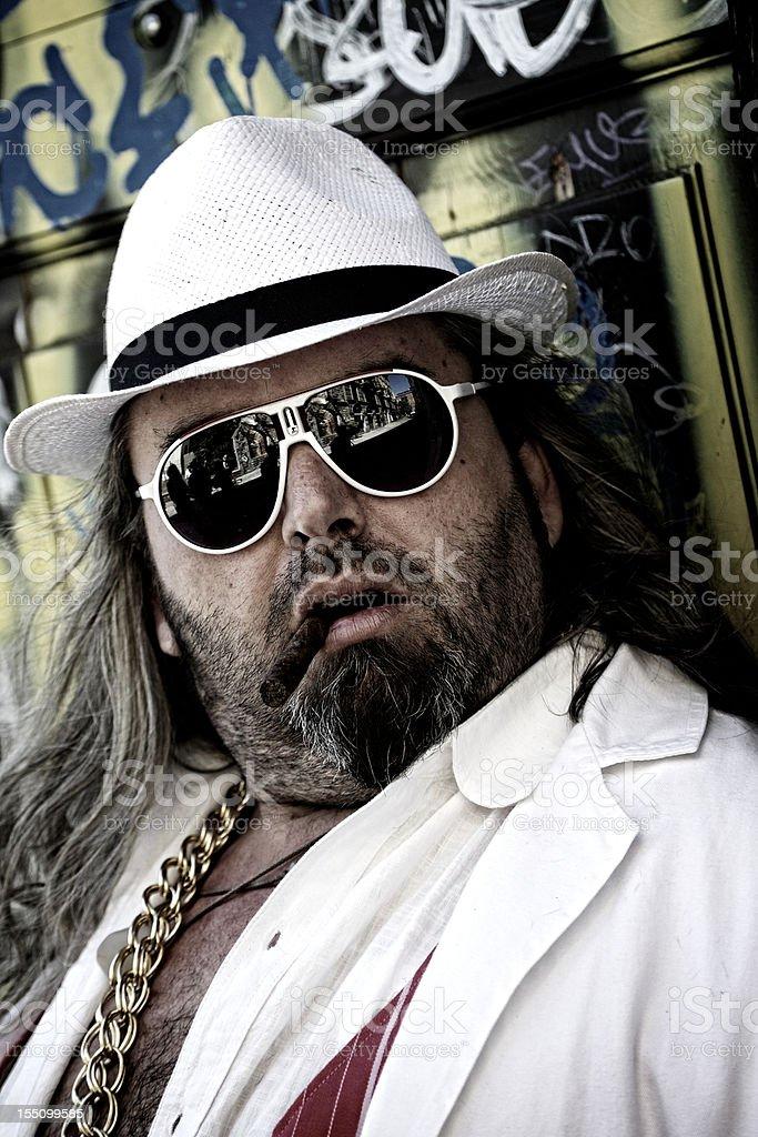 Italian Pimp stock photo