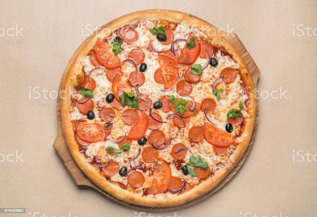 pizza italiana  - foto de acervo