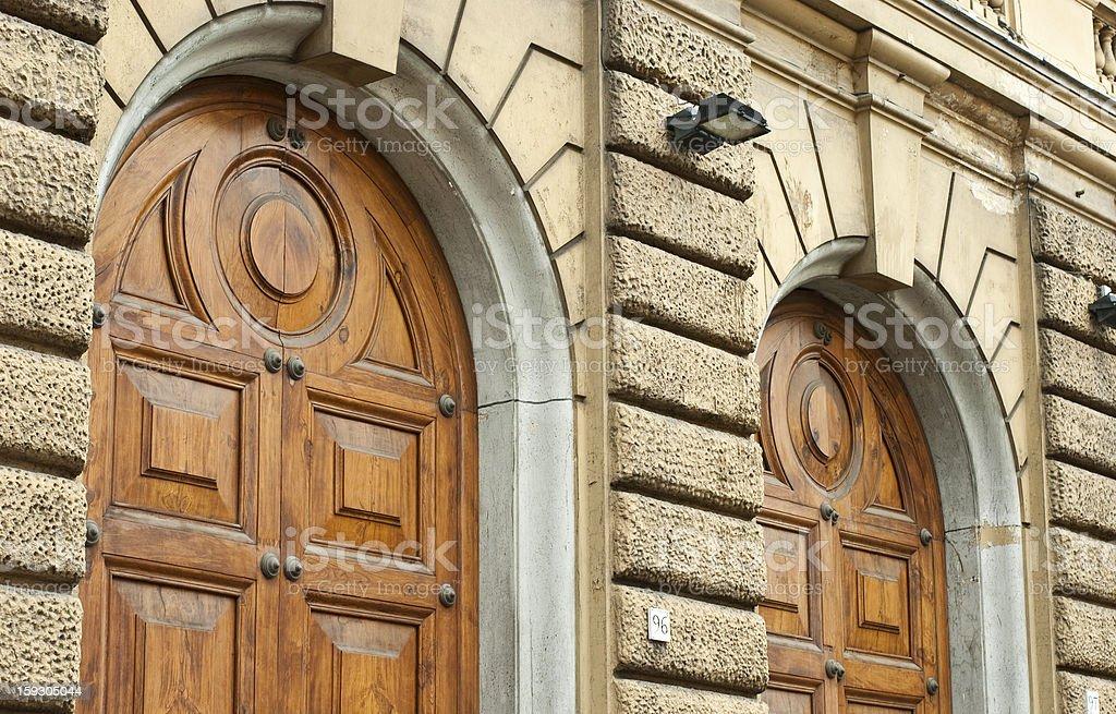 Italian Politics: Rome Treasury, Ministry Of Finance, Palazzo Finanze, Italy stock photo