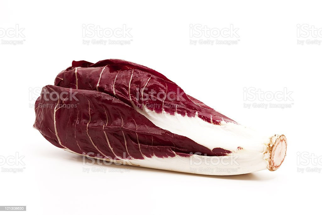 italian radicchio stock photo