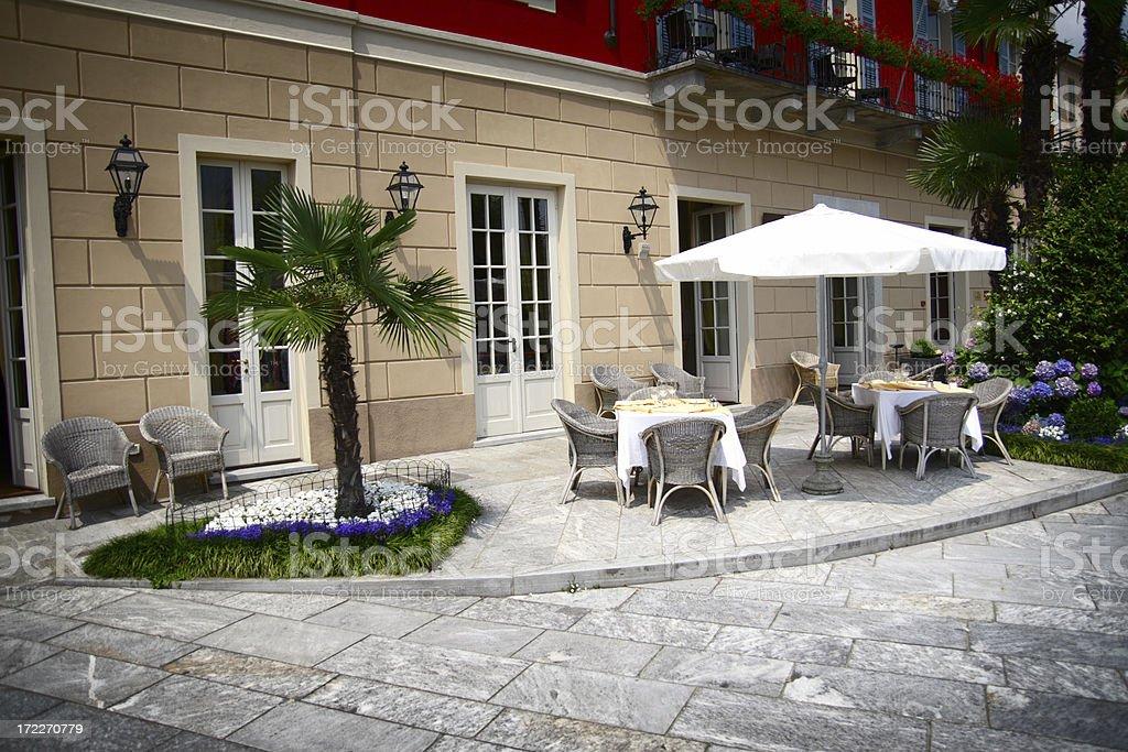 Italian Restaurant royalty-free stock photo