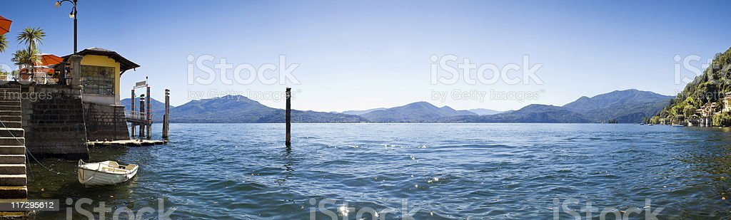 Italian Riviera. royalty-free stock photo