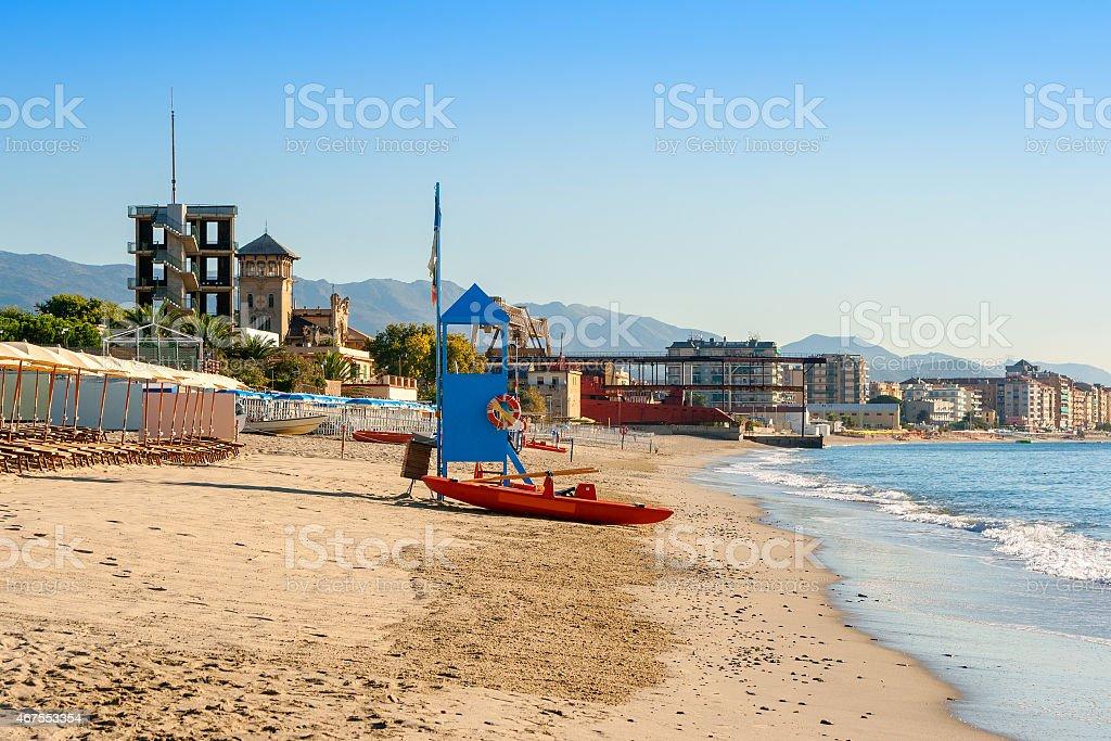 Italian Riviera stock photo