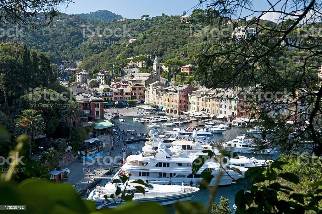 Italian riviera, Portofino Italy royalty-free stock photo