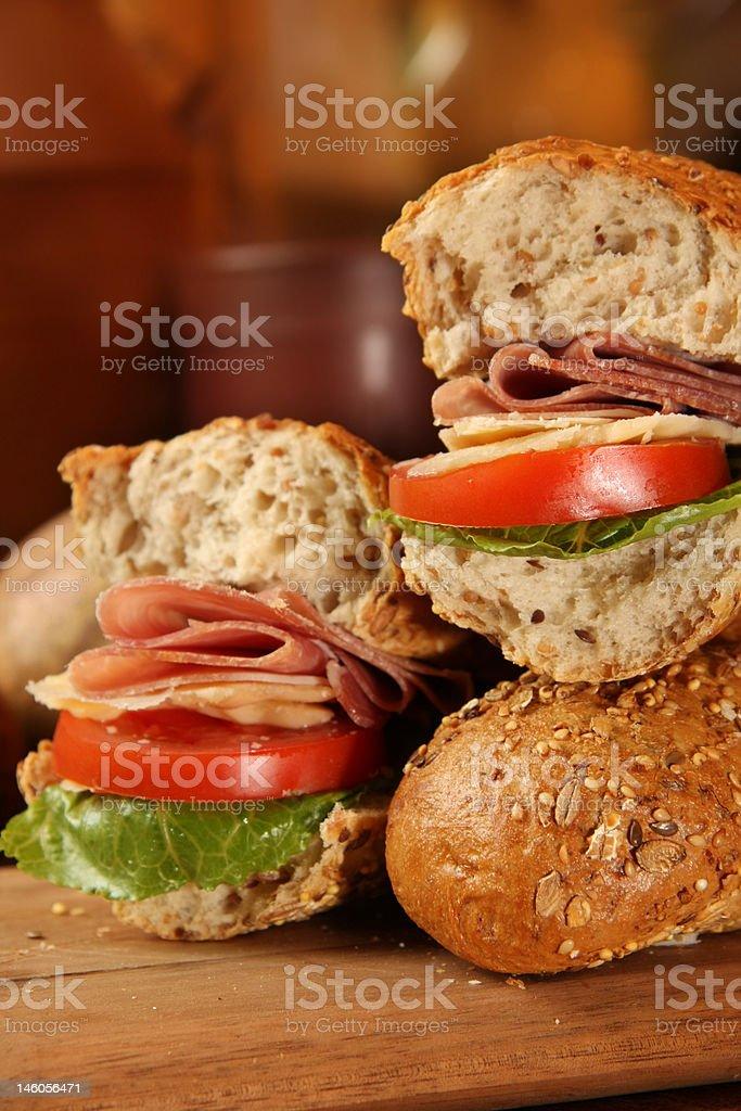 Italian sandwich royalty-free stock photo