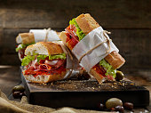 Italian Sandwich's with Roasted Red Peppers