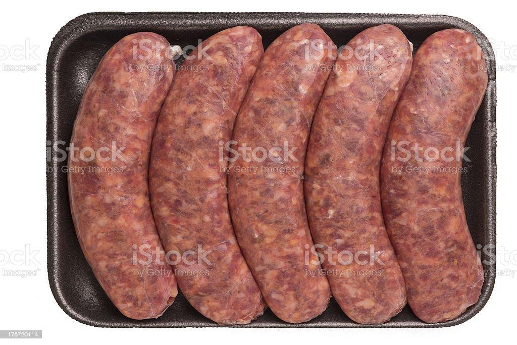 Italian Sausage royalty-free stock photo