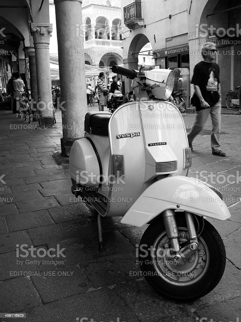 Italian scooter stock photo