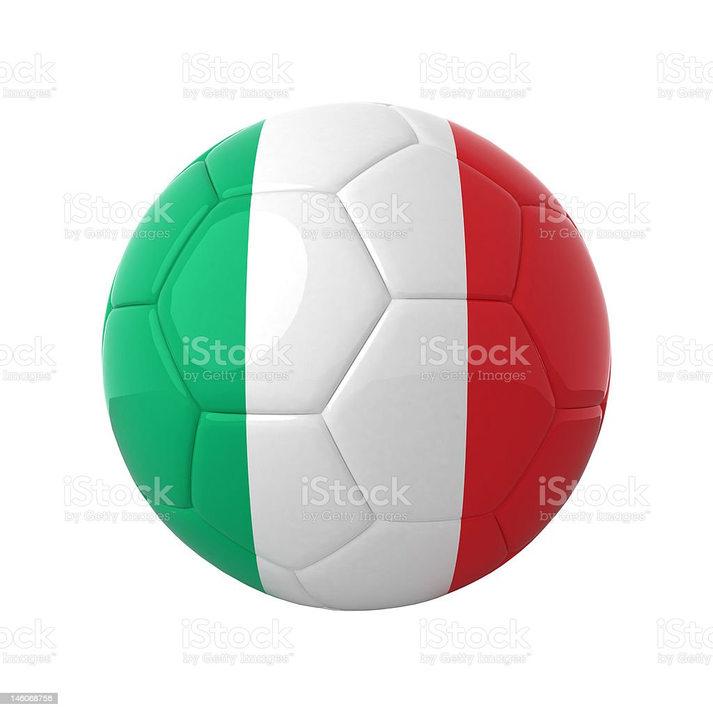 Italian soccer. royalty-free stock photo