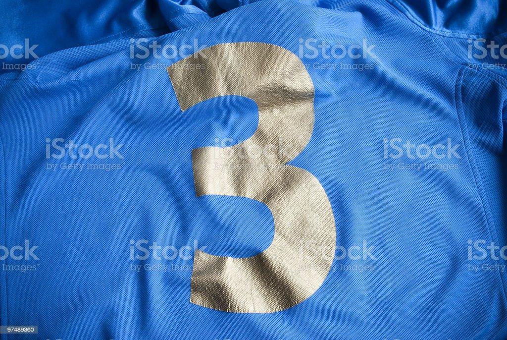 Italian soccer shirt royalty-free stock photo