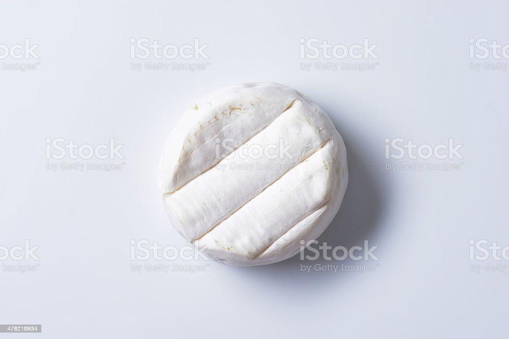 Italian soft-ripened cheese stock photo