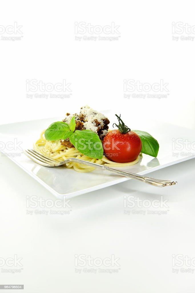 Italian Spaghetti Bolognese II stock photo