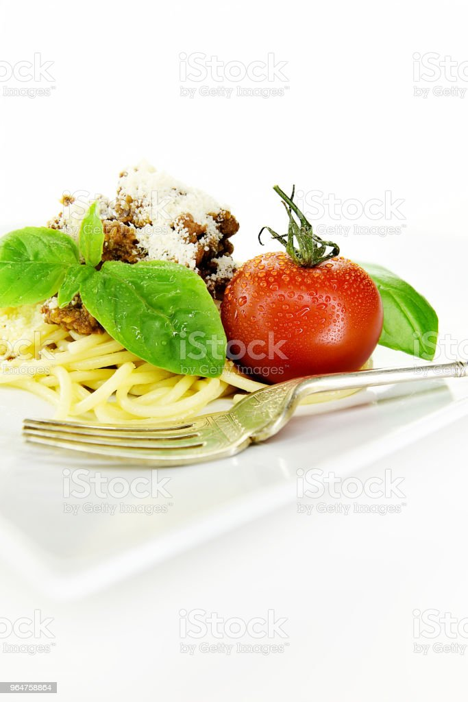 Italian Spaghetti Bolognese stock photo