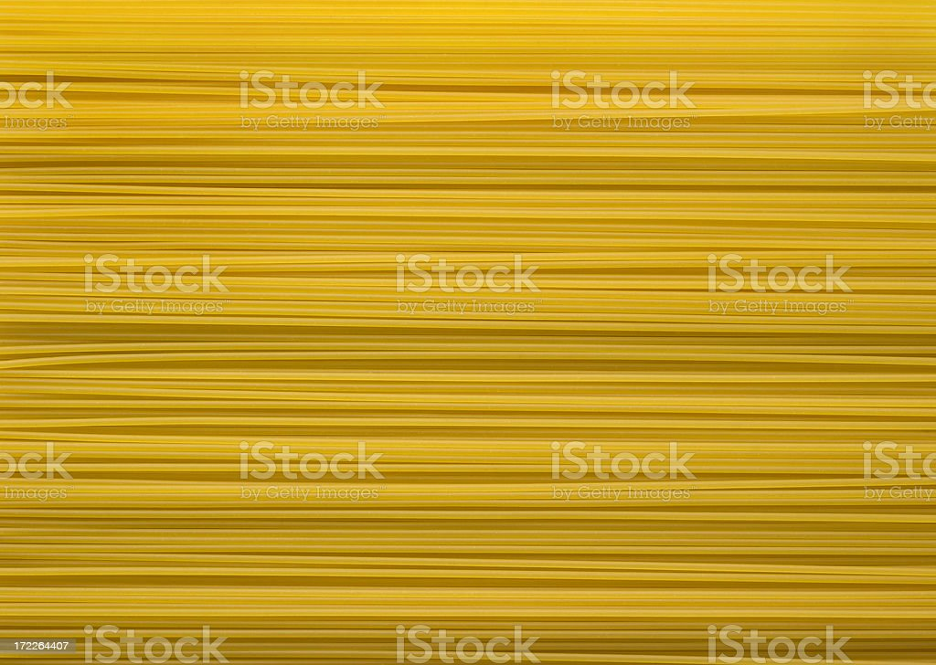 Italian Spaghetti Pasta  Dry Noodle Food Background Texture stock photo