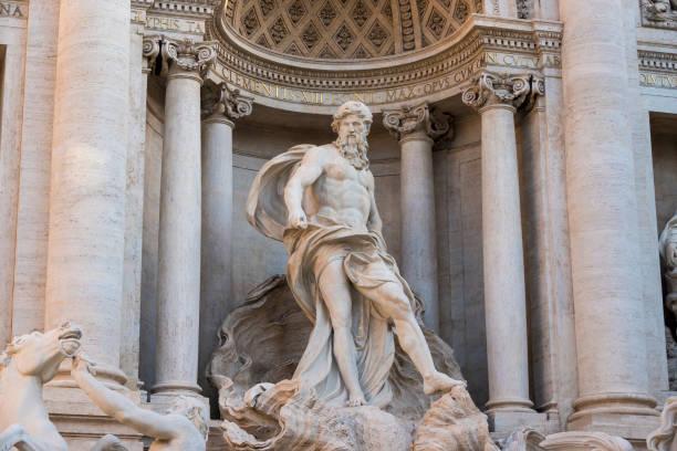 Italian Statue stock photo