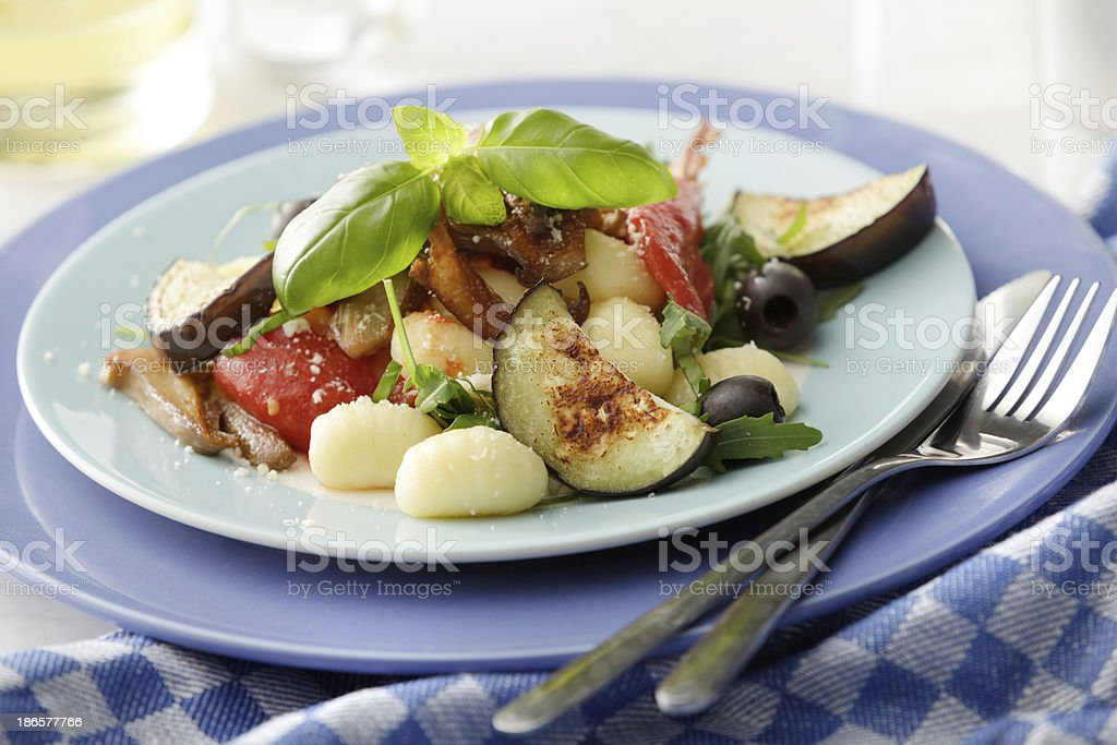 Italian Stills: Gnocchi royalty-free stock photo