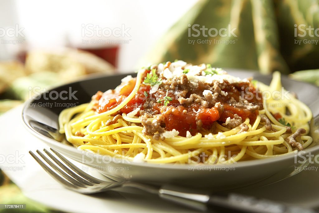 Italian Stills: Spaghetti Bolognese stock photo