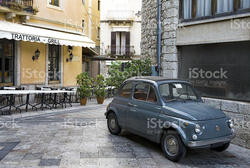 Italian streetscene stock photo