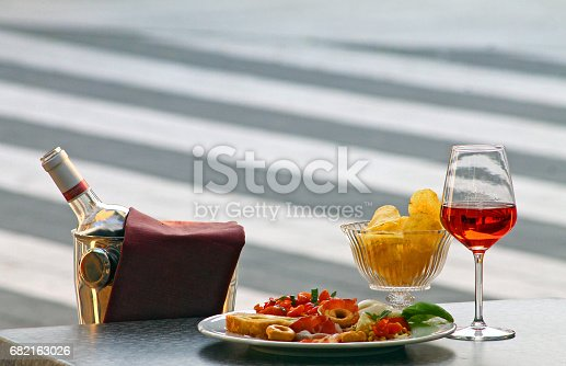 istock Italian style aperitif and cocktail 682163026