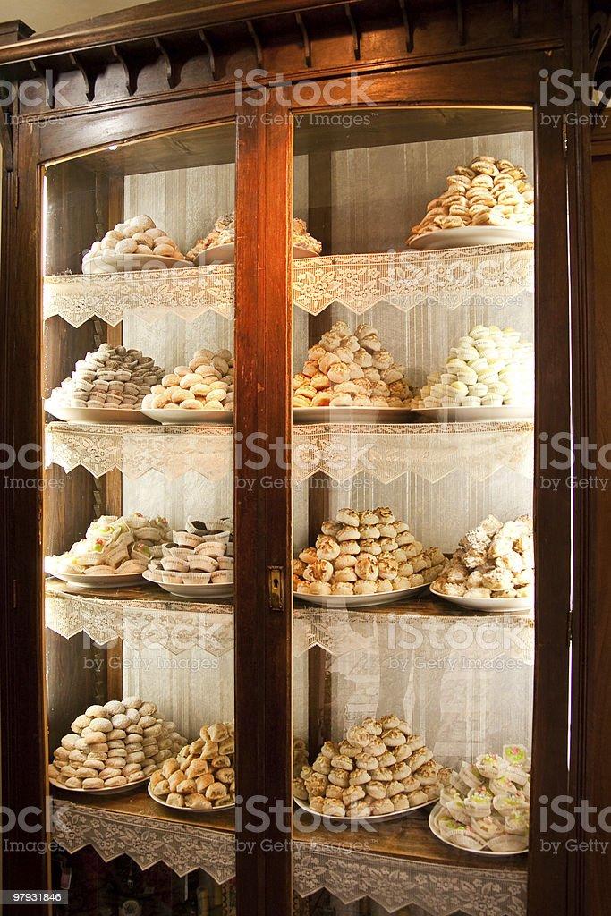 italian style pastry royalty-free stock photo
