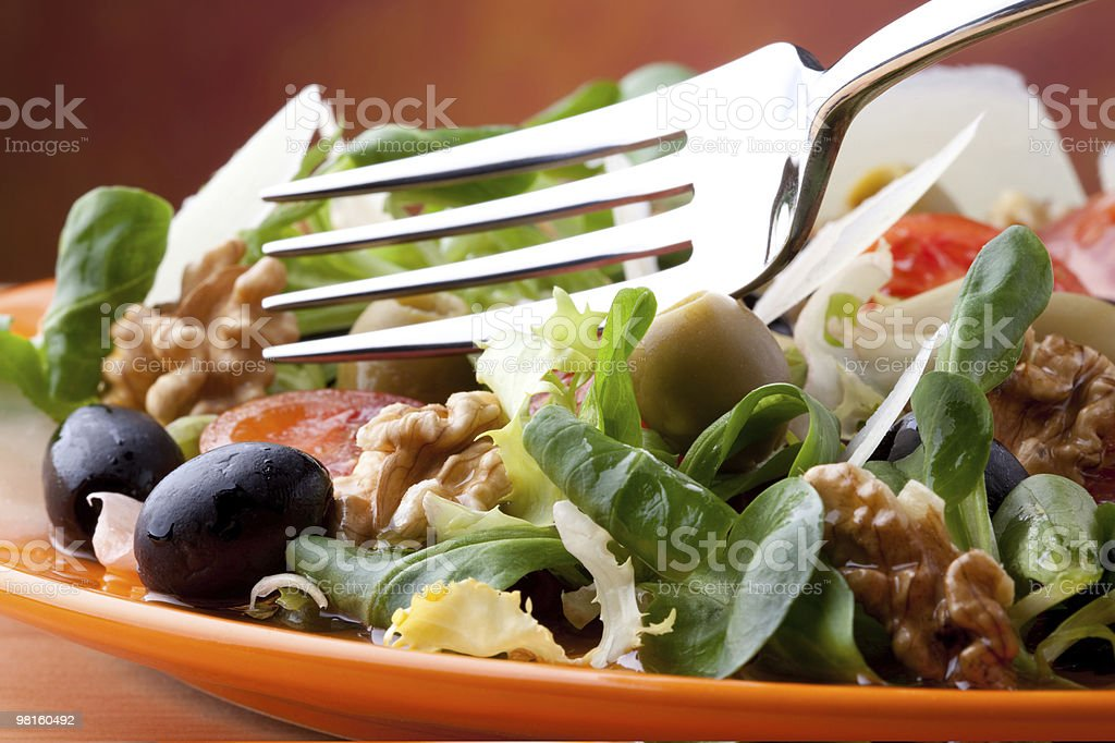 Italian Style Salad royalty-free stock photo