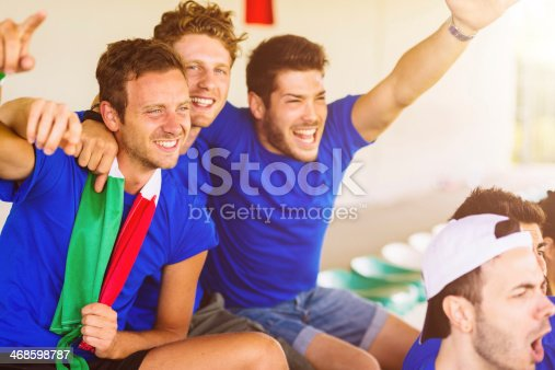 537894724 istock photo italian supporters at stadium 468598787
