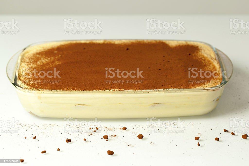 Italian Sweet Cake Tiramisu stock photo