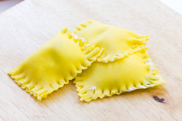 Italian tasty stuffed Ravioli – zdjęcie