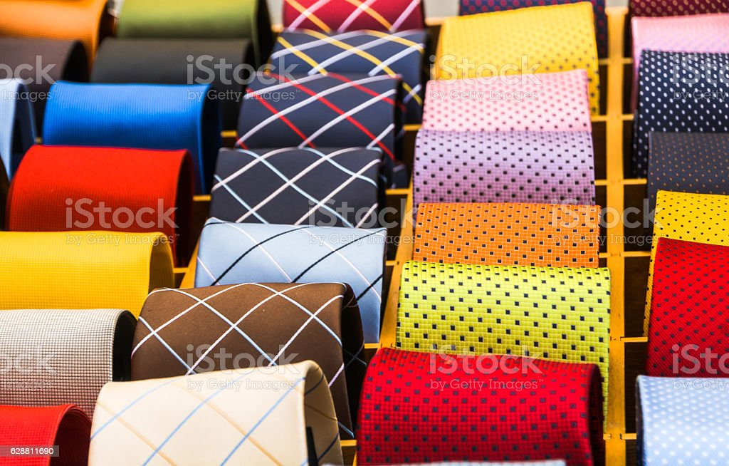 Italian Ties stock photo