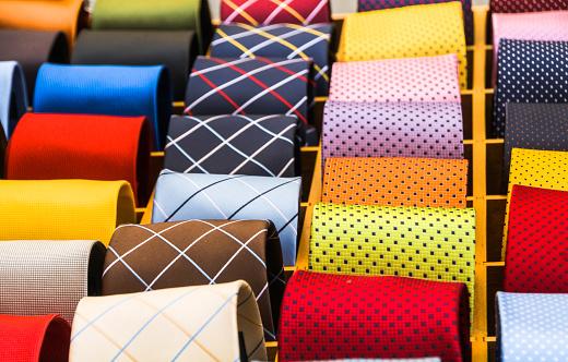 Italian Ties stock photo
