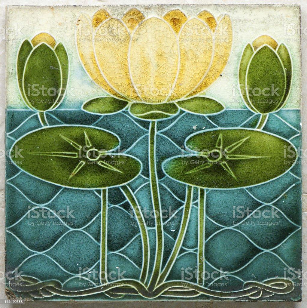 Italian Tile royalty-free stock photo