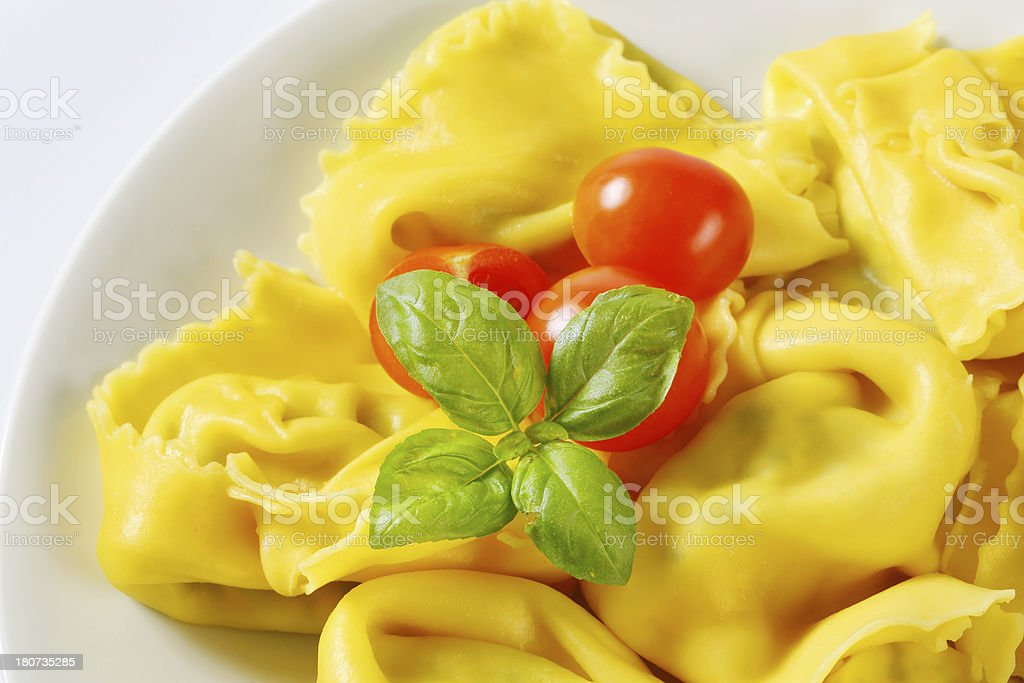 italian tortellini royalty-free stock photo