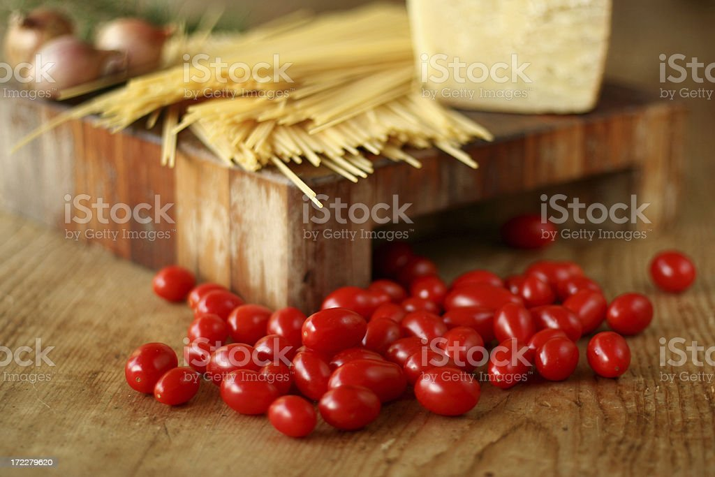 Italian traditional cousine royalty-free stock photo
