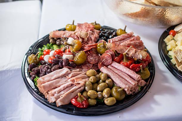 Italian Tray stock photo