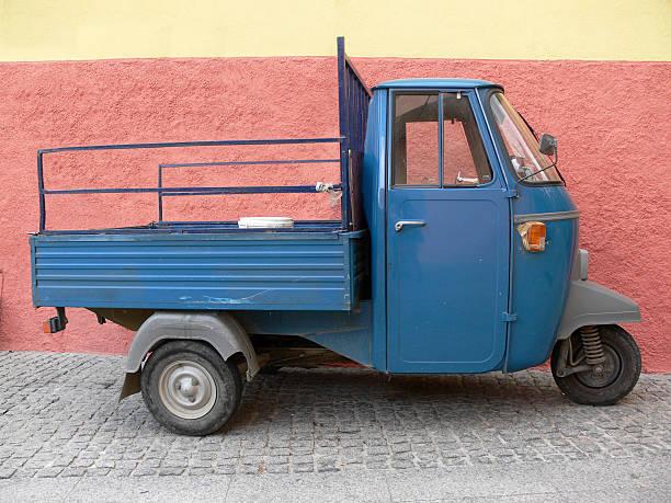 Italiano Triciclo Apecar - foto stock