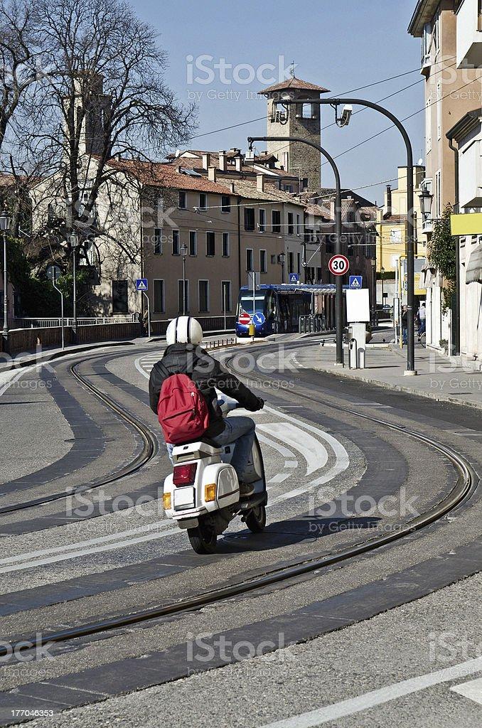 Italian urban scene royalty-free stock photo
