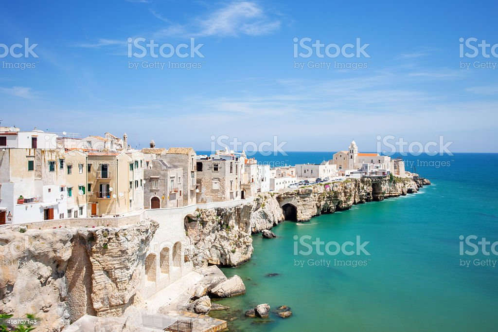 Italian village, Southern Italy stock photo